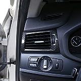 Carbon Style für X3X4F25F262013–2017Auto ABS Chrom Seite Klimaanlage Outlet Verkleidung Zubehör für Linkslenker