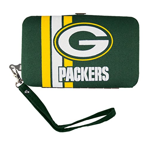 nfl-green-bay-packers-shell-wristlet-35-x-05-x-6-inch-green-by-littlearth