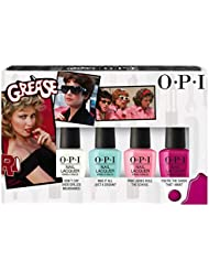 OPI Collection Grease Mini Trousse 4 Vernis à Ongles 4 x 3,75 ml