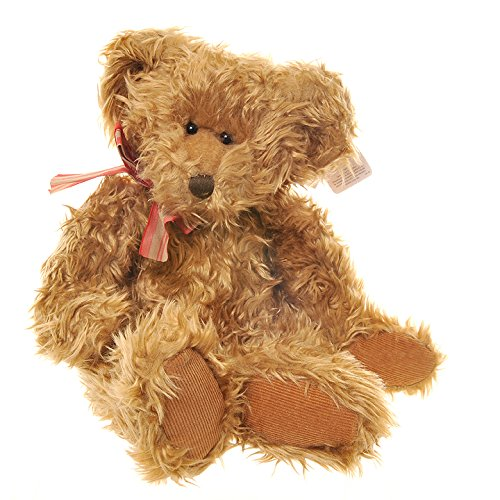russ-soft-long-plush-bear-called-winston-14-inch-retired-and-collectable