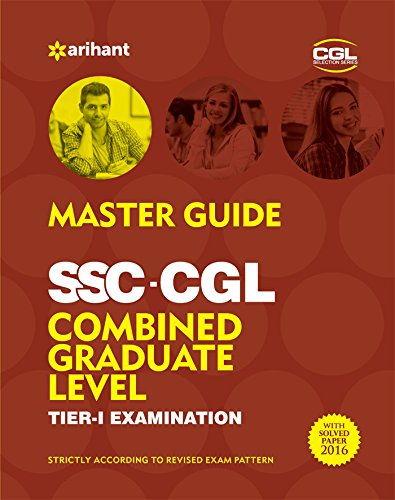 Master Guide SSC Combined Graduate Level Tier 1 Examination 2017