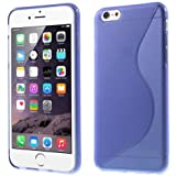 TPU-Case Hülle Cool Skin Handyhülle Schutzhülle Case Cover Schale Tasche Apple iPhone 6 Plus lila violett transparent durchsichtig