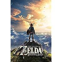 Nintendo The Legend of Zelda: Breath of The Wild (Sunset) 61 x 91.5 cm Maxi Poster