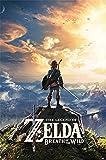 Die Legende von Zelda: Atem der Wildnis 'Sonnenuntergang' Maxi Poster,61 x 91.5 cm