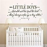 wandaufkleber kinderzimmer baum Boy Room Decor - kleine Jungen sollten nie ins Bett Kinderzimmer Wand Kunst Aufkleber - Kinderzimmer Aufkleber mit Pfeil-Sternen geschickt werden