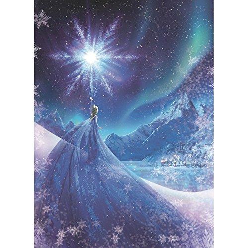 komar-disney-frozen-snow-queen-elsa-papier-peint-en-vinyle-blues-lot-de-4