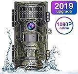WiMiUS Cámara de Caza 20MP 1080P(30FPS), Camara Caza con 940nm Luz Invisible, Camara Caza Nocturna...