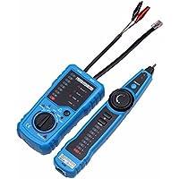 ELEGIANT Red Ethernet LAN Teléfono RJ45 RJ11 Detector de Cables Alambre Trazador de Cable Tester Detector (No incluir batería)