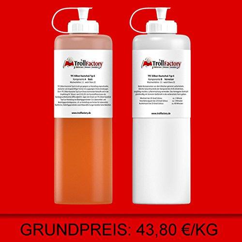 tfc-silikon-kautschuk-typ-6-lebensmittel-aprikot-weich-shore-22-11-500g
