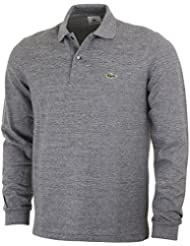 Lacoste - Polo - Homme - Polo ML gris chiné 1313 pour homme - 5