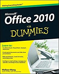 Office 2010 For Dummies by Wallace Wang (2010-05-10)