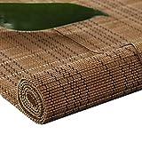 Bambusrollo- Gewebter Bambus Römische Schatten für Windows, Roll-Ups mit Valance aufrollen, Lichtfilterung, Größe optional (größe : 90x200cm)