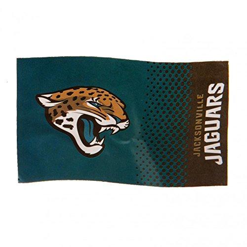 Jaguar Flagge (Jacksonville Jaguars Fahne Flagge 152cm x 91cm NFL Fanartikel Fanshop)