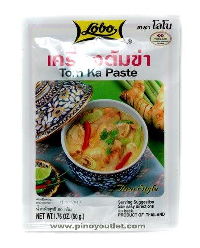 [ 6x 50g ] LOBO Tom Ka Würzpaste Thai Style / Tom Kha Paste