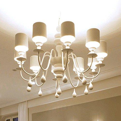 Post-modernen Wasser-Hyazinthe-Lampen und Doppelvilla Kronleuchter/[Villa Kronleuchter Penthouse-Etage]/Einfache und moderne Wohnzimmer Esszimmer Schlafzimmer Lampe-A -