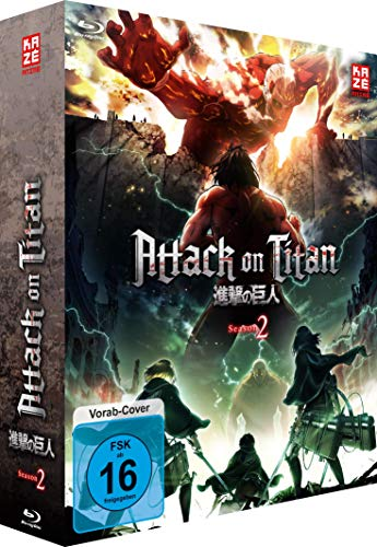 Preisvergleich Produktbild Attack on Titan - 2. Staffel - BR 1 mit Sammelschuber (Limited Edition) [Blu-ray]