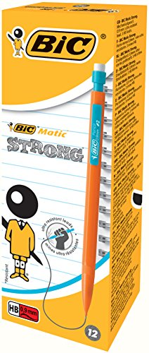 BIC 253014 – Portaminas 0.9 mm, paquete de 12
