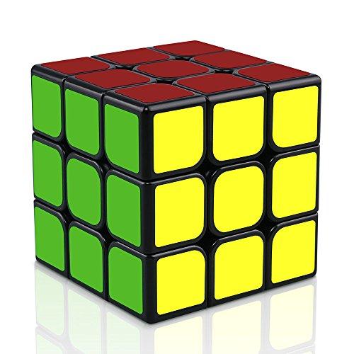 n 3x3 Speed Cube Magic Cube 3x3x3 Zauberwürfel Cube für Speed-Cubing Geeignet für Anfänger,Lebendigen Farben (Magic E Spiele)