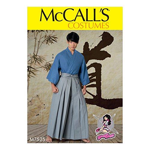 Teens Kostüm Einfache - McCall 's Patterns Schnittmuster/Herren/Kostüm Teen Jungen, Mehrfarbig, Größen S-XXL