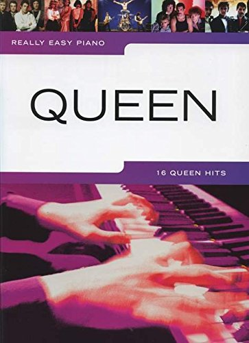 Really Easy Piano Queen Piano Book