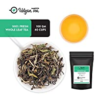 Udyan Himalayan Oolong Tea, 100 gm (40 Cups) | Loose Leaf Fruity Oolong Tea | Sourced Directly from The Himalayas | 100% Natural | Packed in Resealable Vacuum Pouch