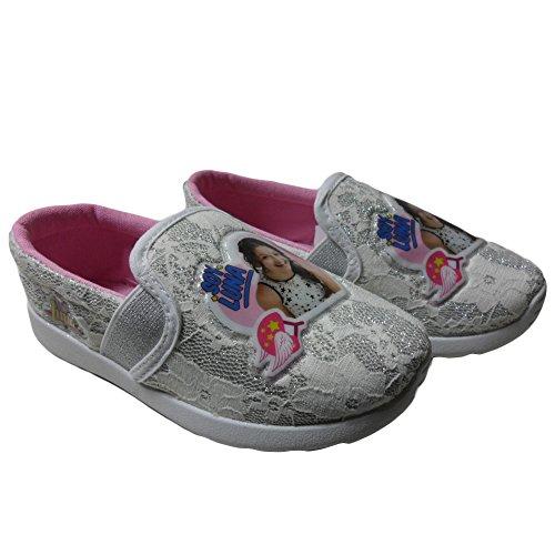 SOY LUNA scarpe sportive bambina MOCASSINO SLIP ON CON ELASTICO colore BIANCO basse Bianco