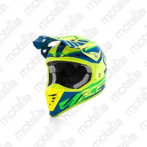 Casco off-road Acerbis Profile 3.0 Skinviper giallo/blu