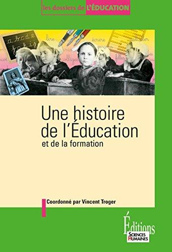 Une histoire de l'éducation et de la formation pdf epub