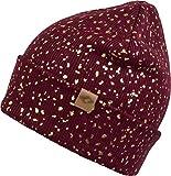 CHILLOUTS Mütze Mabel Hat Bordeaux/Gold(MAB03)