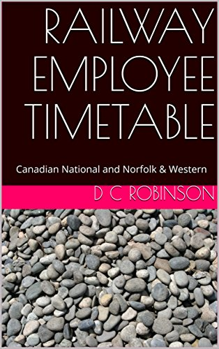 railway-employee-timetable-canadian-national-and-norfolk-western-english-edition