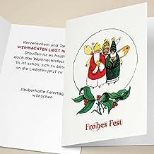 Gemalte Weihnachtskarten.Suchergebnis Auf Amazon De Für Hände Wolfsee Ug