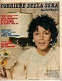 Corriere della sera illustrato 2 Gennaio 1978 Valentina Cortese come Wandissima