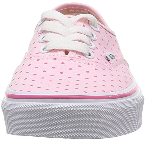Vans U AUTHENTIC Unisex-Erwachsene Sneakers Pink ((Chambray Dots) / DE5)