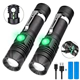 LED Torch, iToncs Torches Super Bright Powerful USB Rechargeable Torch Flashlight for Camping