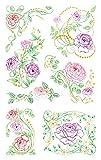 AVERY Zweckform 54488 Deko Sticker Rosen 7 Aufkleber