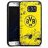 DeinDesign Samsung Galaxy S7 Silikon Hülle Case Schutzhülle Borussia Dortmund BVB Fanartikel