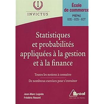 Statistiques et probabilités appliquées à la gestion et a la finance