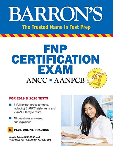Barron's Family Nurse Practitioner Certification Exam with Online Tests por Angela Caires DNP  CRNP