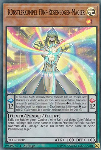erkumpel Fünf-Regenbogen-Magier - Ultra Rare - Yu-Gi-Oh - Deutsch - 1. Auflage ()