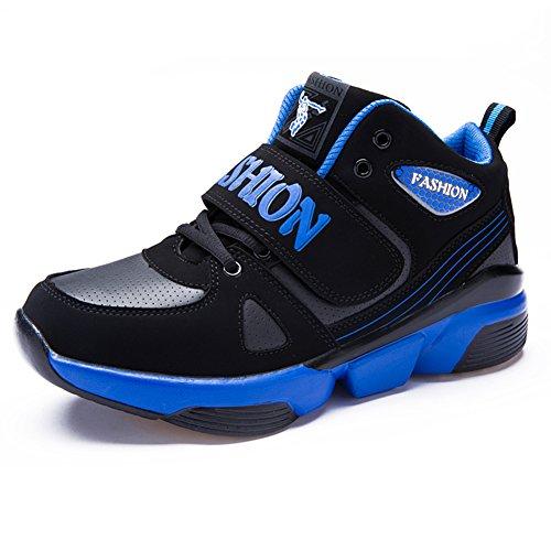 hommes Sneakers/Vache homme Chaussures de loisirs/ les hommes portent des chaussures de basket-ball/Chaussures de sport pour hommes B
