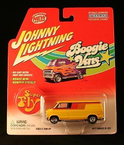 Johnny Lightning Boogie Vans 1976 Chevy G-20 Van w/ Have a Nice Day sticker