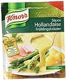 Knorr Feinschmecker Hollandaise Frühlingskräuter Soße, 13er-Pack (13 x 250 ml)