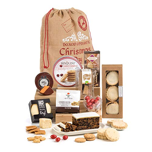 Hay Hampers Traditional and Luxury The Night Before Christmas Hamper Santa Sack - Free UK Delivery