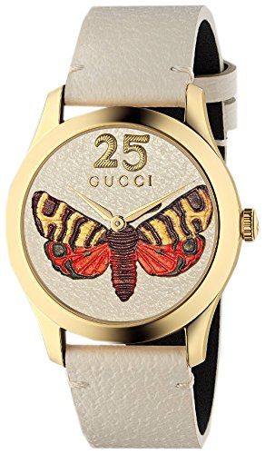 Gucci YA1264062 BEIGE STEEL 316 L Woman Watch