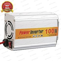 100 Watt Car Auto Inverter/ Converter 12V DC to 220V AC + USB