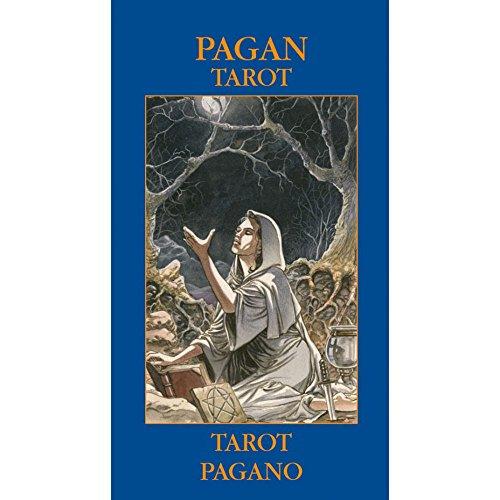 Baraja Pagan Tarot por Gina M. Pace, Mazo de 78 Cartas con Instruccion