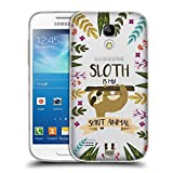 Head Case Designs Faultier Seelen Tiere Abbildungen Soft Gel Hülle für Samsung Galaxy S4 Mini I9190