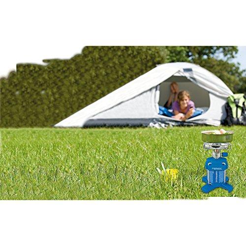 campingaz r chaud gaz 1 feu bleuet 206 plus avec stabilisateur 1250w sur cartouche. Black Bedroom Furniture Sets. Home Design Ideas