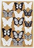 Generic 18pcs DIY 3D Butterfly Wall Stickers Art Decal PVC Butterflies by Generic
