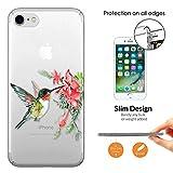 Best Cellbell LTD Iphone - c01149 - Cute Beautiful Hummingbirds Flower Flora Spring Review